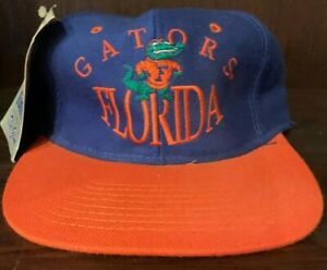 80'S VINTAGE THE GAME FLORIDA GATORS SNAPBACK CAP BLUE ORANGE