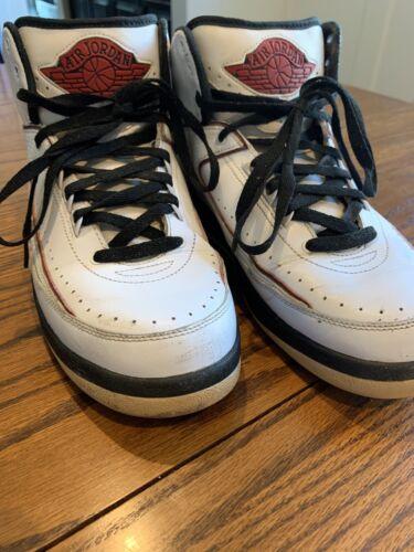 Vintage Nike Air Jordan 2 Retro QF White/Black Var