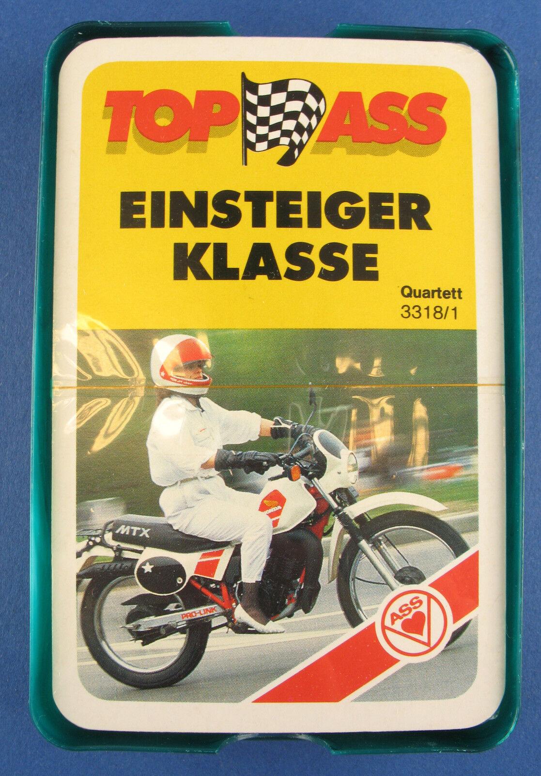 Quartett - EINSTEIGER KLASSE - ASS 3318 1 - NEU in Folie - 1985 - Motorrad