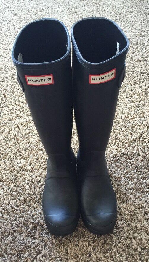 Hunter Stylish Tall  Rain Boots Size UK4 US5 EU37