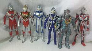 Ultraman-Figure-Tiga-Gaia-Agul-Nexus-Dyna-6-Lot-1998-2009-Bandai-6-034-Ultra-Hero