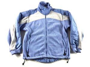 Columbia-Women-039-s-Blue-Long-Sleeve-Fleece-Jacket-Coat-Size-Medium