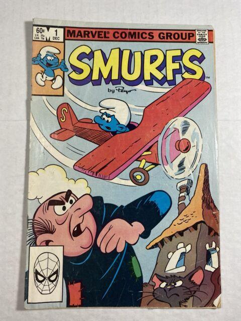 Smurfs 1 Dec 1982 Marvel For Sale Online Ebay