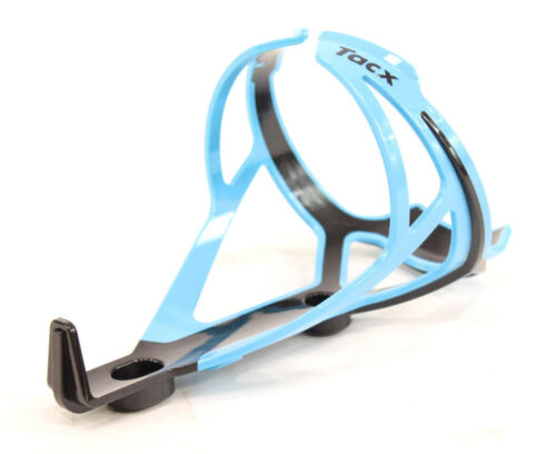 Light Blue TACX Deva Bicycle Cycling Water Bottle Cage 29 Grams