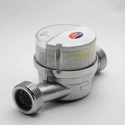 """Wasserzähler Wasseruhr R1/2"""" R3/4"""" diverse Hersteller Elster Allmess Techem Ista"""