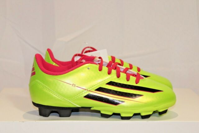 2d5ccf16f51 adidas F5 TRX FG Soccer Cleats (us Youth Sizes) Solar Slime 1.5