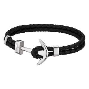Geschäft verkauf usa online preiswert kaufen Details zu LOTUS Style Armband Herren Leder schwarz LS1832-2/1 Anker  Schmuck JLS1832-2-1