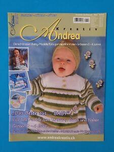 Andrea Kreativ Baby Stricken Häkeln Nähen Nr03 03 Ungelesen 1a Abs