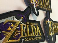 3 Legend Of Zelda Patches: Ocarina Of Time, Link To The Past, Breath Of The Wild
