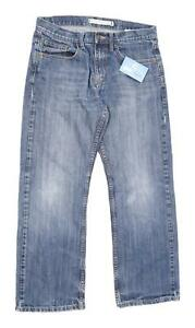Marks-amp-Spencer-Mens-Blue-Denim-Jeans-Size-W32-L29