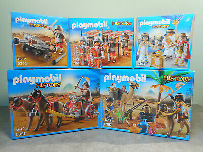 3 Projectils Feu NEW Playmobil History Accessoire Arbalete des Egyptiens