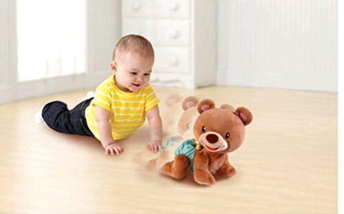Teddy Bear Plush Crawl Toy Learning Cub Baby VTech Explore New Play Songs