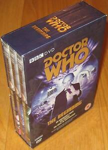 Doctor-Who-DVD-BOX-SET-The-Beginning-Excellent-Condition