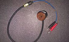 """2pc Tube amp bias tester for el34 6v6 6l6 kt88 6550 5881 7024 """"mV"""" test mode"""