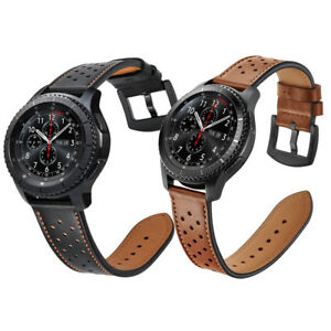For-Samsung-Gear-S3-Frontier-Classic-Watch-Genuine-Leather-Wrist-Band-Strap