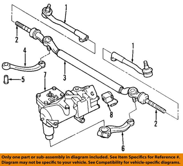 bmw oem 95 01 750il steering gear pitman arm 32211141552 ebay rh ebay com Ford Drop Pitman Arm Pitman Arm Chevy Truck