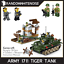 Army-Tank-Vehicles-1711-Panzer-USA-German-Building-Block-Toy-Compatible-Jeep-Kid thumbnail 2