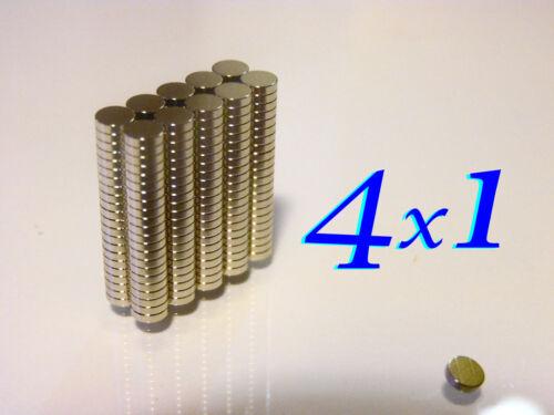 Svapo.magnete 120  MAGNETI  neodimio 4x1mm forti N48  CALAMITE   Fimo