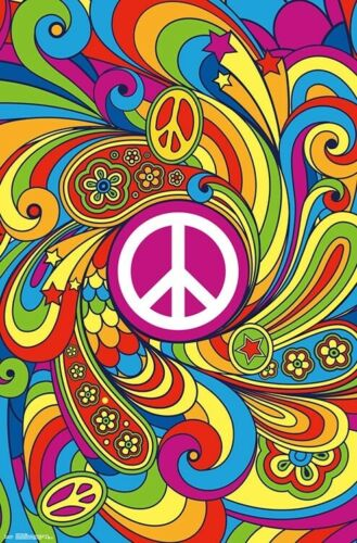 22x34-17556 TRIPPY POSTER PEACE SIGN