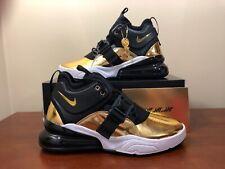 Nike Air Force 270 Ct16 QS Think 16 Gold Standard Black Gold