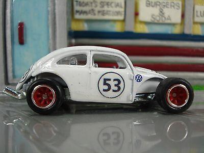Hot Wheels KUSTOM Air-Cooled Custom Volkswagen Beetle / Herbie decals & details
