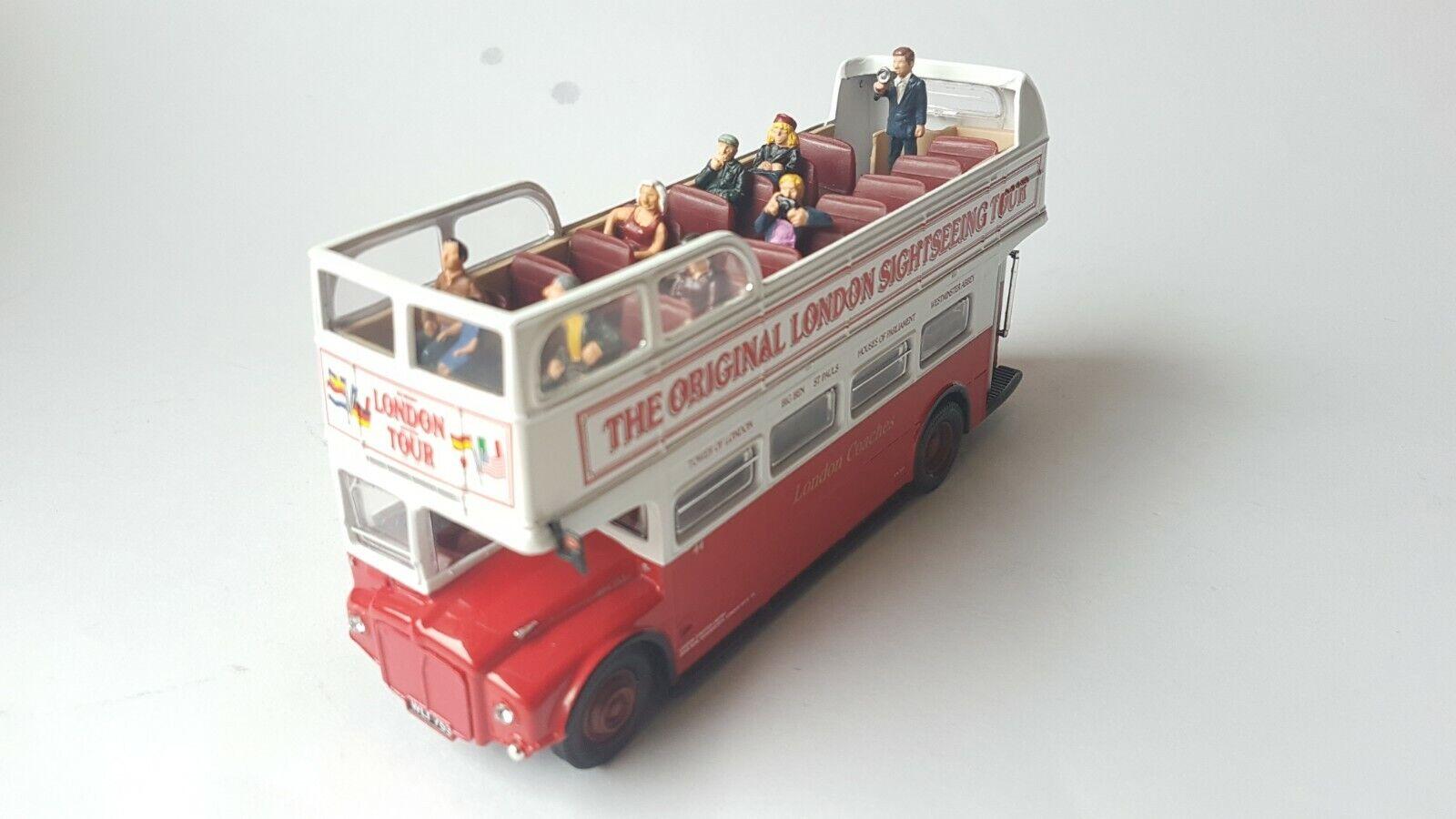 Corgi sightsseing-bus  London Monitor  con firguren 1 50 OVP