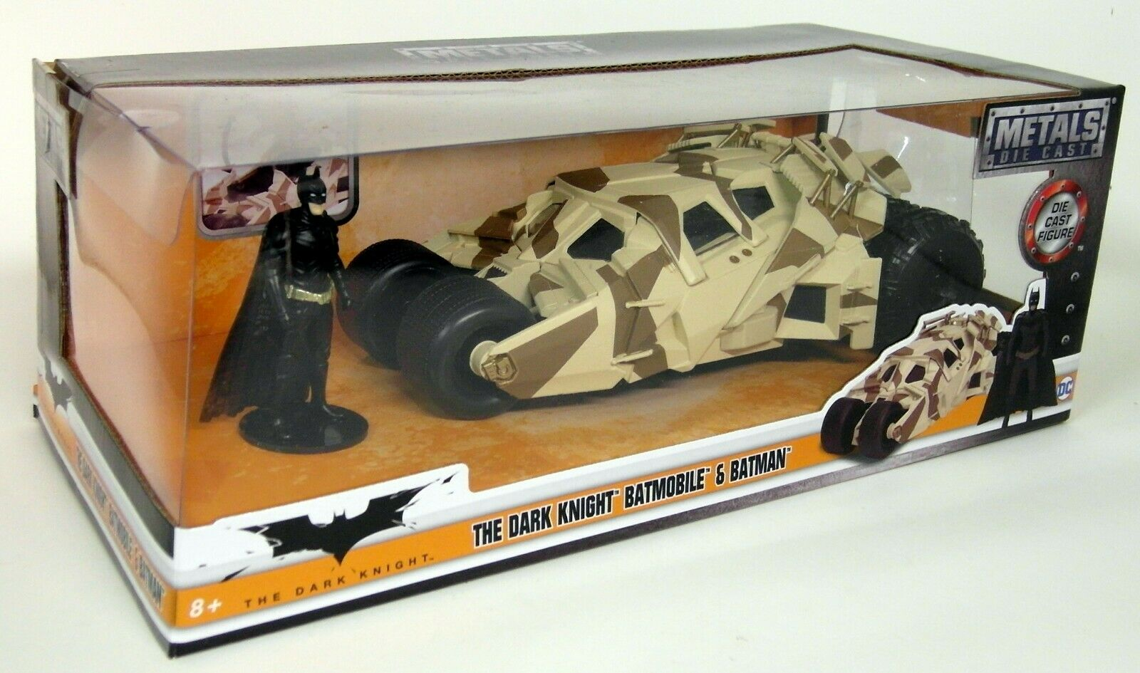 Jada 1 24 Scale Batman The Dark Knight Batmobile Tumbler Camo Diecast model car