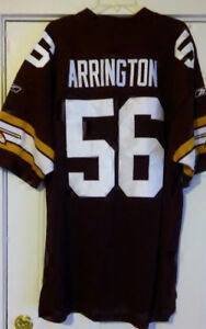 best website 3227d 4f906 Details about NEW Lavar Arrington Redskins Alternate Authentic Retro Jersey  54 SEWN!! 2X XXL