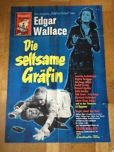 Die-seltsame-Graefin-Kinoplakat-61-Joachim-Fuchsberger-Edgar-Wallace