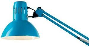 Lampada Da Tavolo Architetto Morsetto Colorata Blu Bianco Nero Ebay