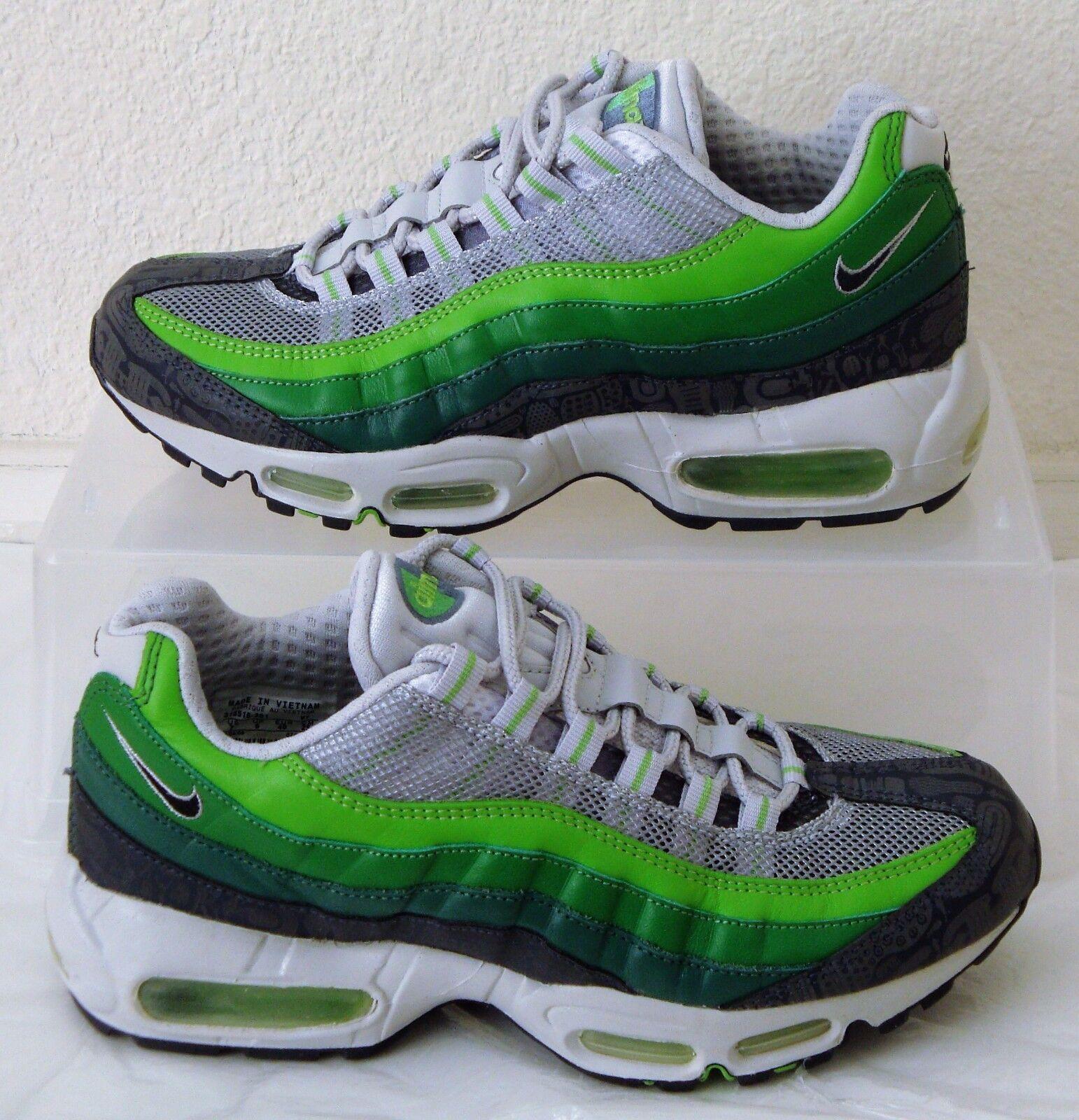 Vintage New Nike Air Max 95 Premium Rejuvenation Mens US Size 7.5 UK 6.5  Green