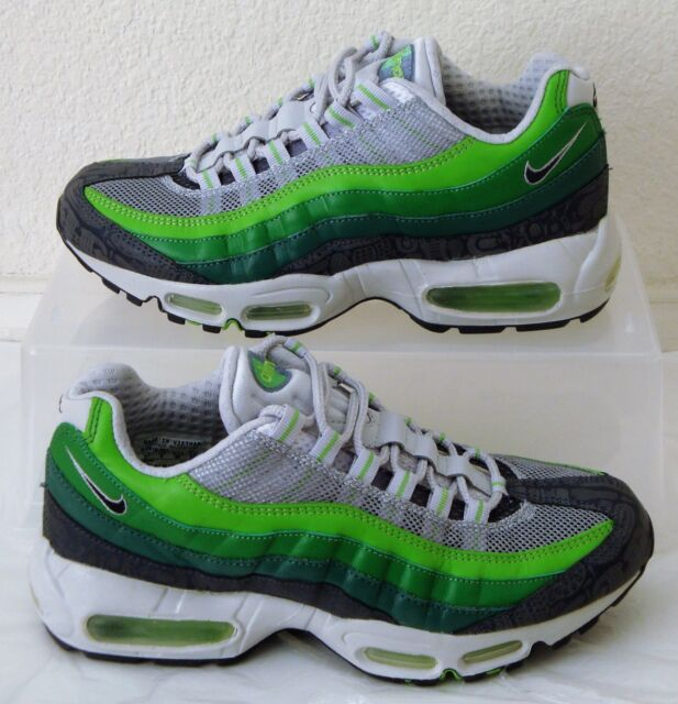 Vintage New Nike Air Max 95 Premium Rejuvenation Mens US Size 7.5 UK 6.5 Green