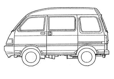 1994-1998 CATALOGO RICAMBI ORIGINALI FILE PDF PORTER VAN 1000CC CARB