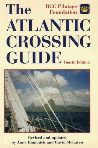 The Atlantic Crossing Guide Hardback Book The Fast Free Shipping