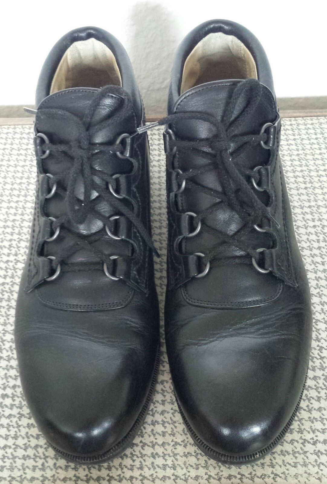 Unikat Handmade Orthopädische Lederschuhe Leder schwarz Schuhmacher