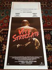 Vite Strozzate locandina poster Ricky Memphis Vincent Lindon Sabrina Ferilli