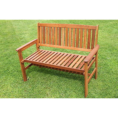 Tropicana Hardwood 2 Seater Garden Bench - NOW REDUCED