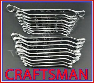 CRAFTSMAN HAND TOOLS 18pc FULL POLISH SAE /& METRIC MM Combination Wrench Set !!