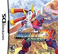 Mega Man Zx: Advent [nintendo Ds Dsi, 2d Co-op Platformer Action Game]
