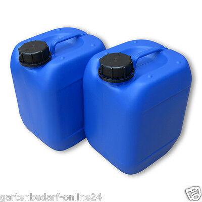 2 X 5 L Kanister Blau Trinkwasserkanister Getränke Wasserkanister Neuware Din51 Fettiges Essen Zu Verdauen Um Zu Helfen