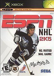 ESPN NHL 2K5 (Microsoft Xbox, 2004) USED