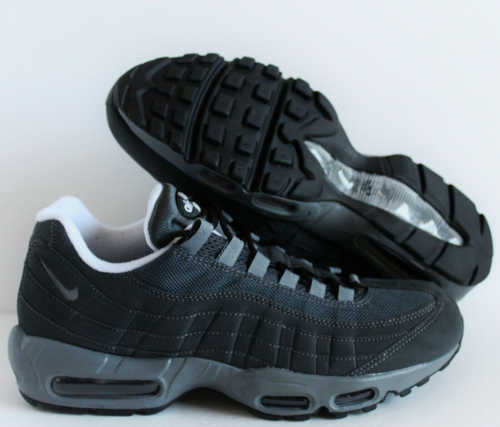 Nike Men Air Max 95 iD grau-Weiß SZ 10 ( 818592-991 )