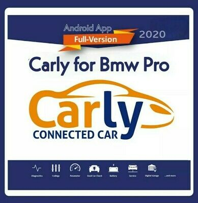 carly bmw pro android app latest 2020 full version obd2 fast dispatch ebay. Black Bedroom Furniture Sets. Home Design Ideas