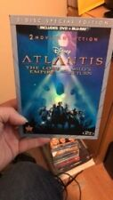 Atlantis: The Lost Empire/Atlantis: Milos Return (Blu-ray/DVD, 2013, 3-Disc Set)