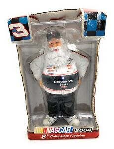 NASCAR-Collectable-NIB-Santa-Figure-2004-8-IN-Tall-3-Goodwrench-Service-Plus