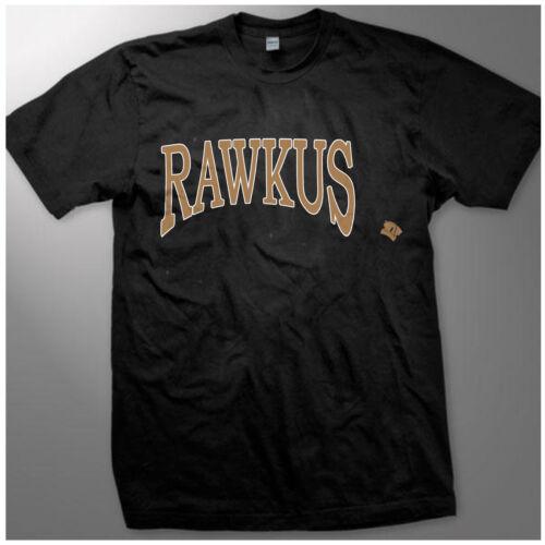vtg *1998 RAWKUS records hoodie sweat shirt rap hip hop GILDAN REPRINT S-XXL