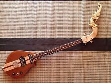 Maple Neck Electric Phin Guitar - Traditional Thai Musical Instrument - Solid
