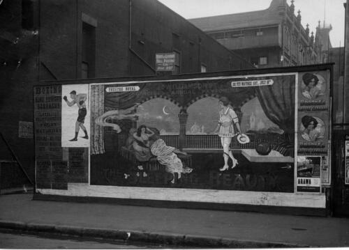 Christchurch New Zealand Gloucester St Photo 1920 Pantomime Poster