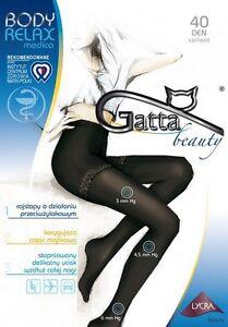 BODY-RELAX-Medica-40Den-Collants-Gatta-Tailles-2-3-ou-4-Livraison-immediate