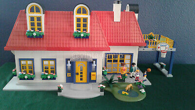 1528 Nice modern house piece 3965 playmobil jardinniere, flower